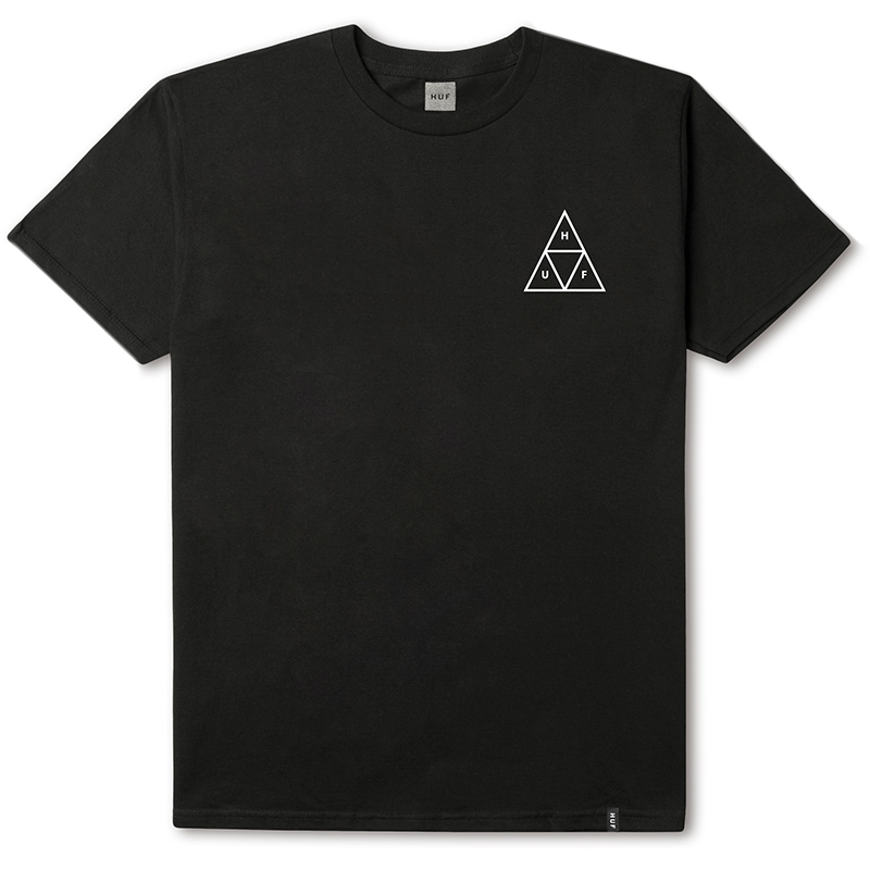 HUF Triple Triangle T-shirt Black