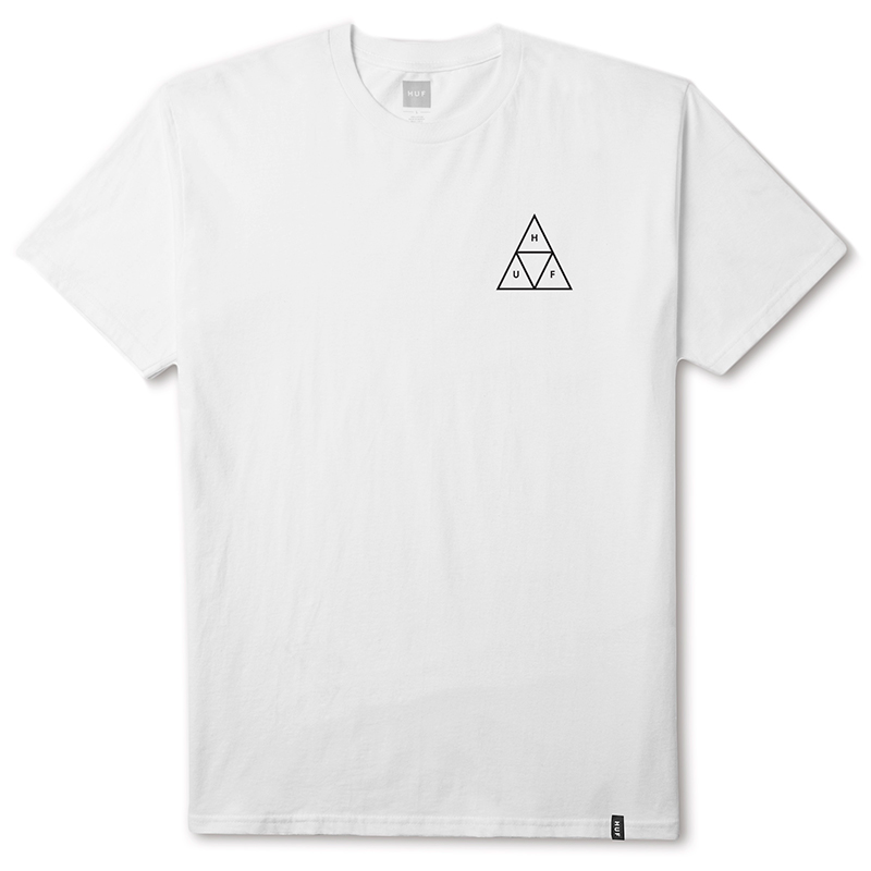 HUF Triple Triangle T-shirt White
