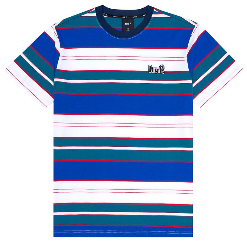 HUF Upland Knit T-Shirt Insignia Blue