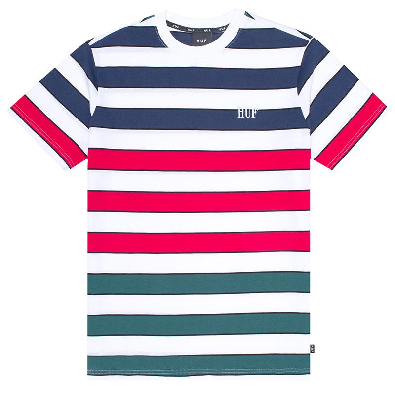 HUF Variant Knit T-Shirt White