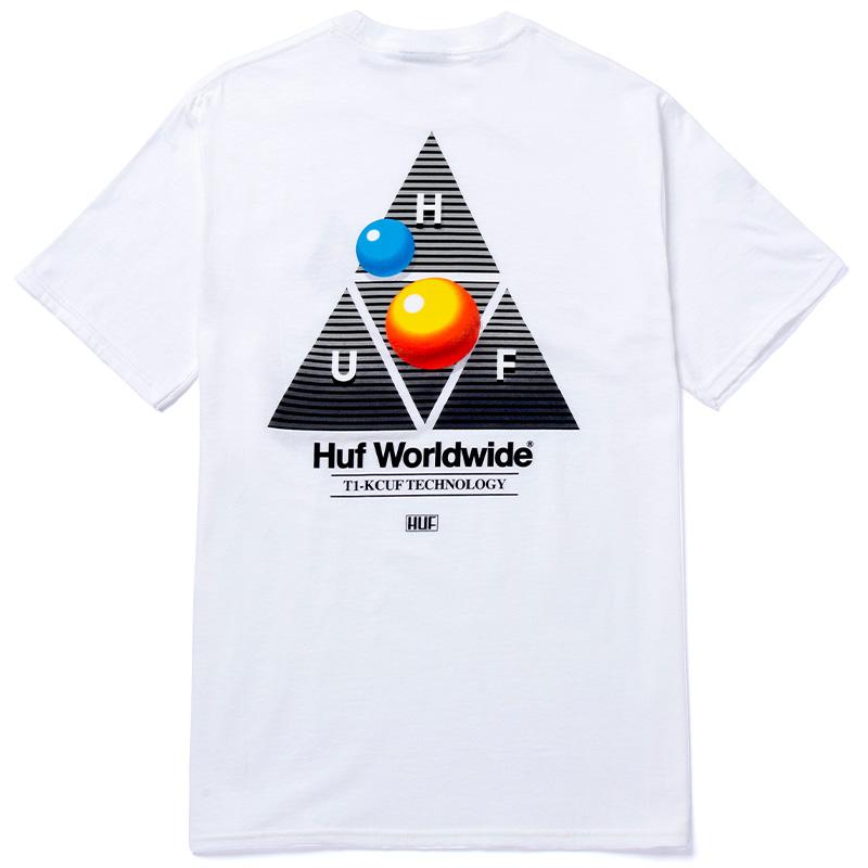 HUF Video Format Tt T-Shirt White