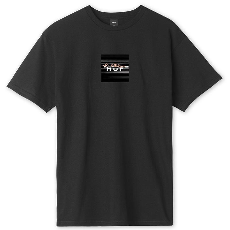 HUF Voyeur Logo T-Shirt Black