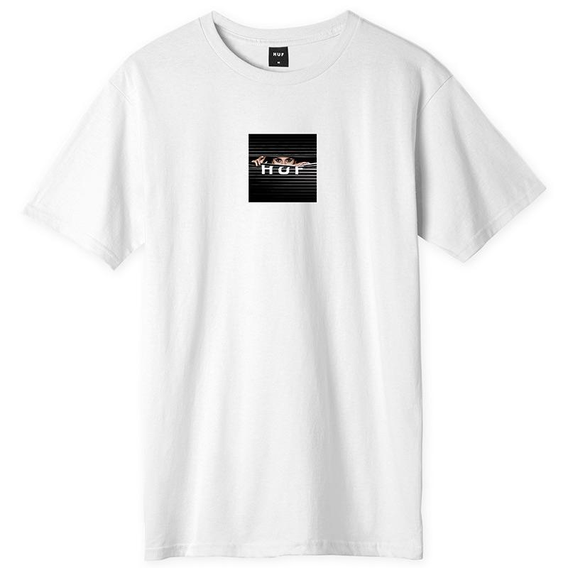 HUF Voyeur Logo T-Shirt White