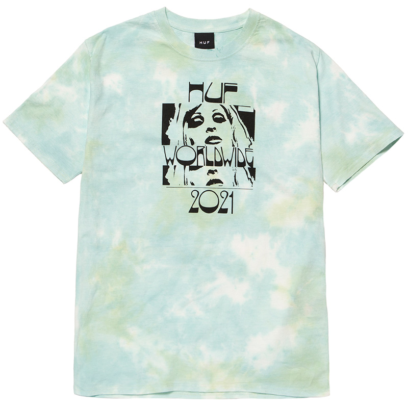 HUF Wasted Darling T-Shirt Blue
