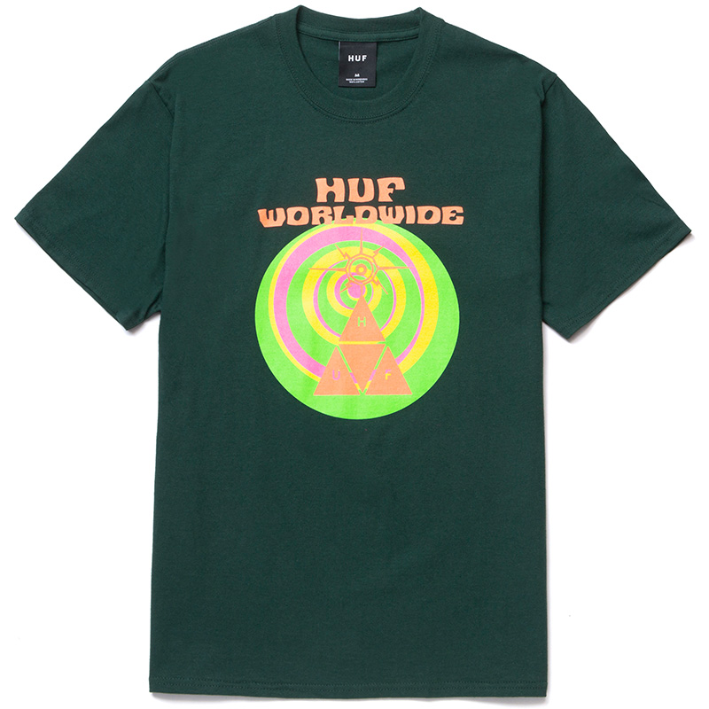 HUF We Give You T-Shirt Dark Green