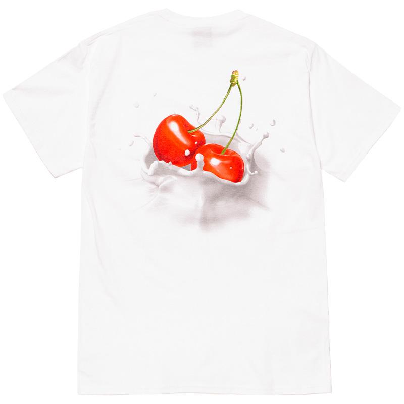 HUF Wet Cherry T-Shirt White