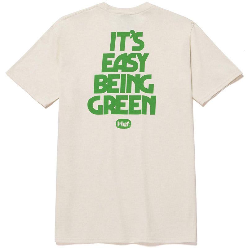HUF X 420 Easy Green T-Shirt Natural