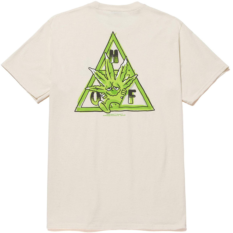 HUF X 420 Green Buddy Tt T-Shirt Natural