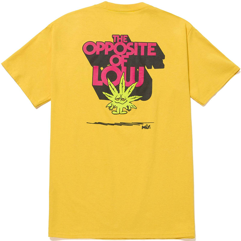 HUF X 420 Opposite Of Low T-Shirt Golden