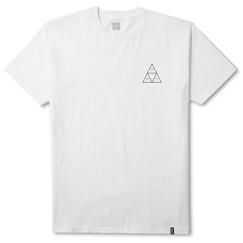 HUF X Ambush Triple Triangle T-shirt White
