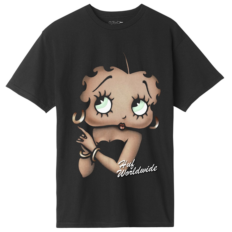 HUF X Betty Boop Cigar Club T-Shirt Black
