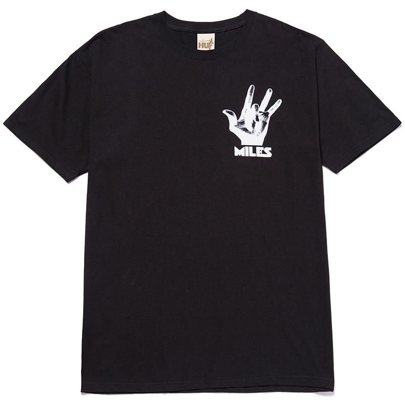 HUF X Miles Davis Bitches Brew T-Shirt Black