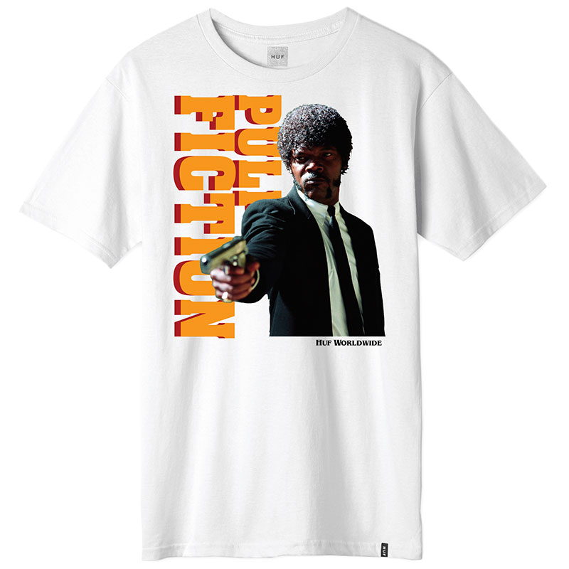 HUF X Pulp Fiction Ezekiel T-Shirt White