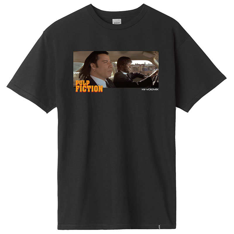 HUF X Pulp Fiction Royale With Cheese T-Shirt Black
