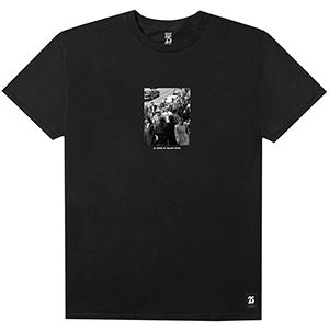 HUF x Real Crowd T-Shirt Black