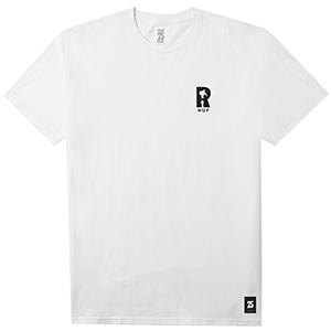 HUF x Real VHS T-Shirt White