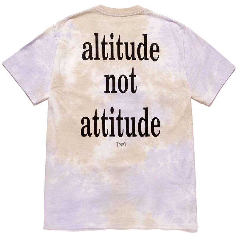HUF X Smashing Pumpkins Altitude T-Shirt Violet