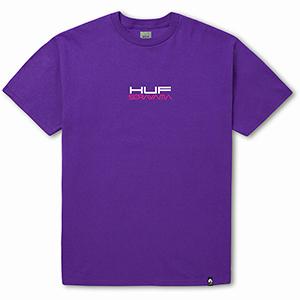 HUF X Sorayama Ride T-Shirt Purple