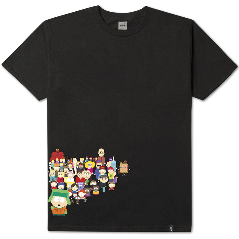 HUF X South Park Opening T-shirt Black