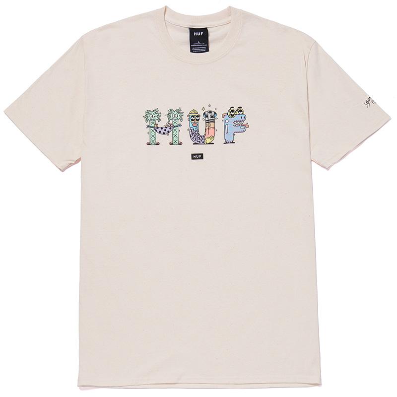 HUF X Steven Harrington T-Shirt Natural
