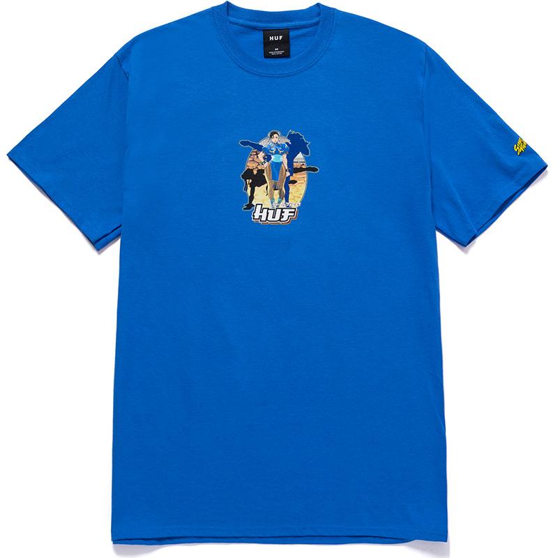 HUF X Streetfighter Chun-Li T-Shirt Royal