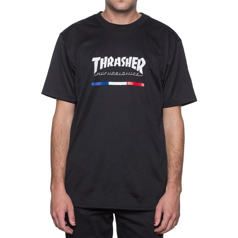 HUF X Thrasher Tds Jersey Black