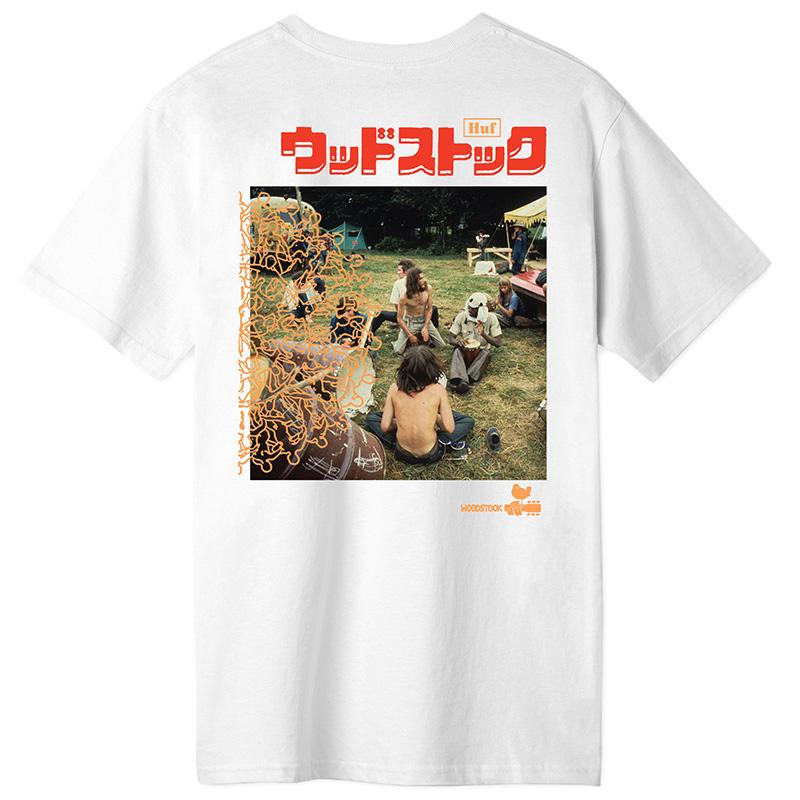 HUF X Woodstock Ww Culture T-Shirt White