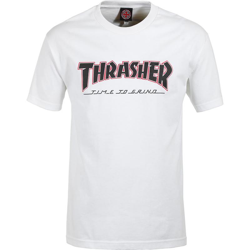 Independent X Thrasher TTG T-Shirt White