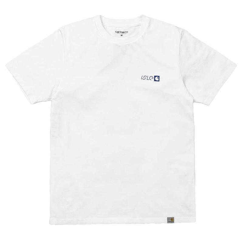 Isle x Carhartt Modular T-Shirt White