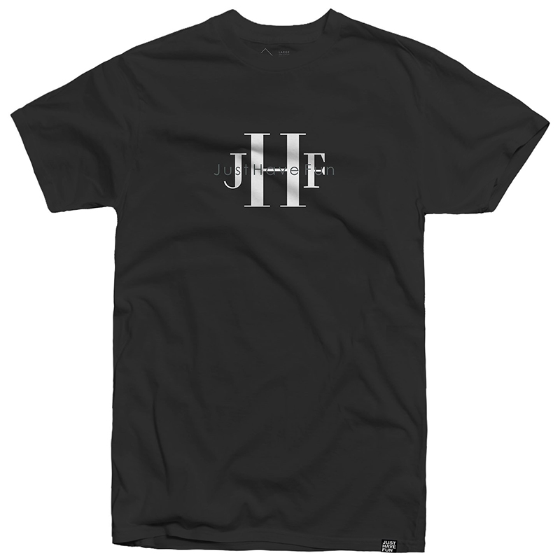 JHF Stoned Wash T-Shirt Washed Black