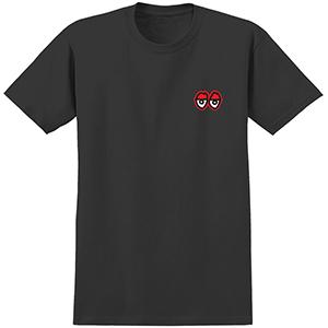 Krooked Eyes T-Shirt Black/Red
