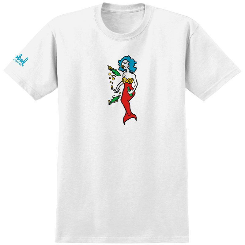 Krooked Mermaid T-Shirt White