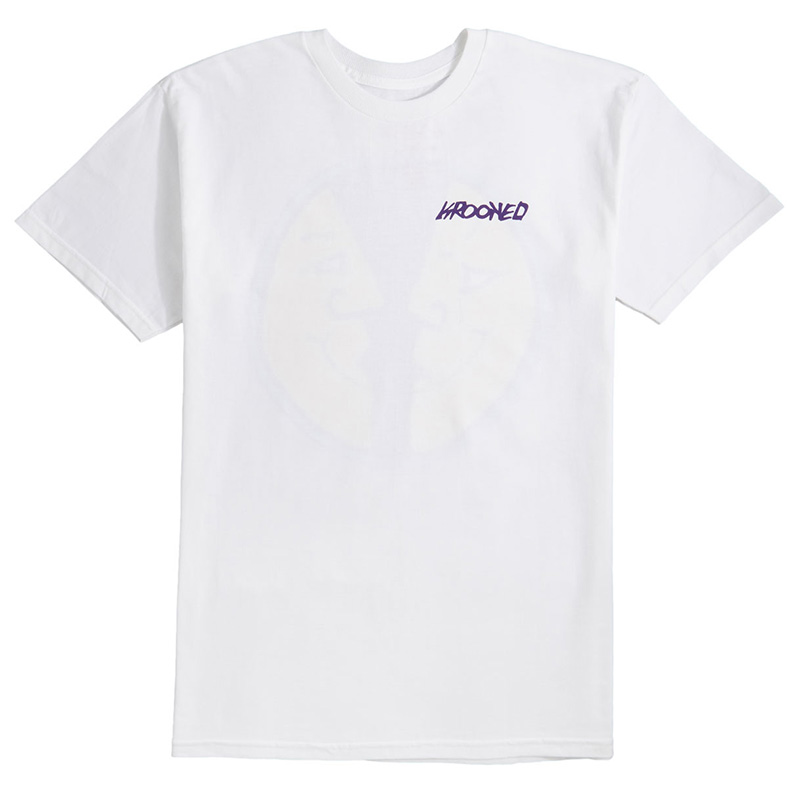 Krooked Moonsmile 2 T-Shirt White
