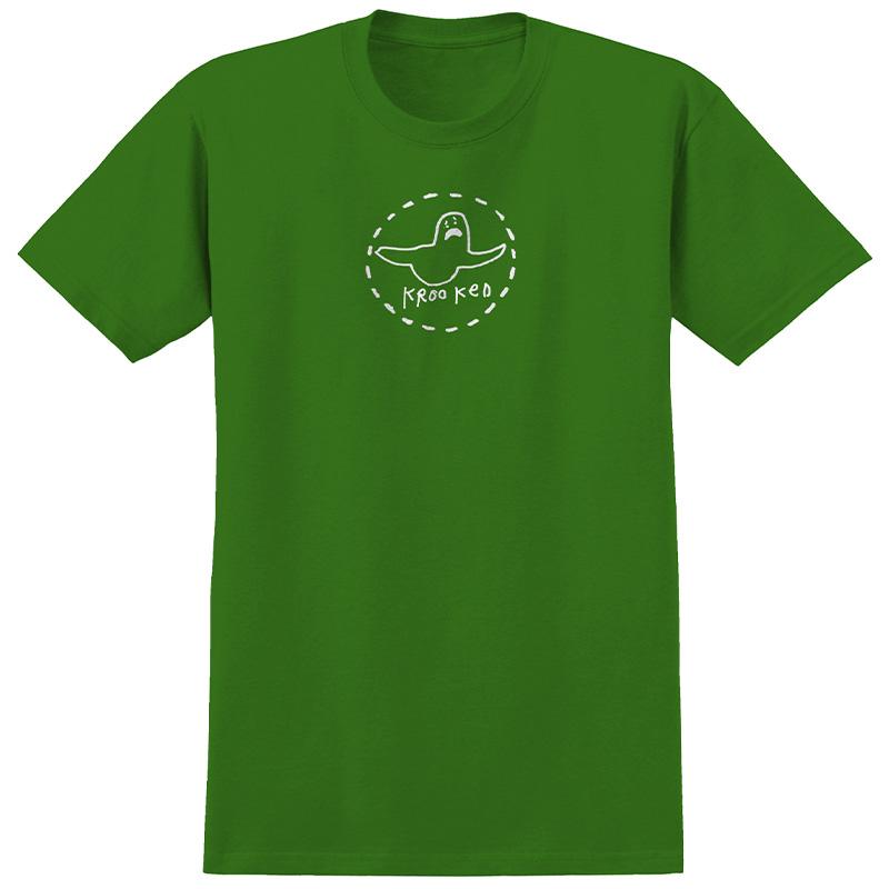Krooked Trinity T-Shirt Kelly Green/White Print
