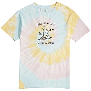 Lakai X Leon Karssen Breaking Curbs T-Shirt Rainbow