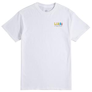 Lakai Skate Your Mom T-Shirt White