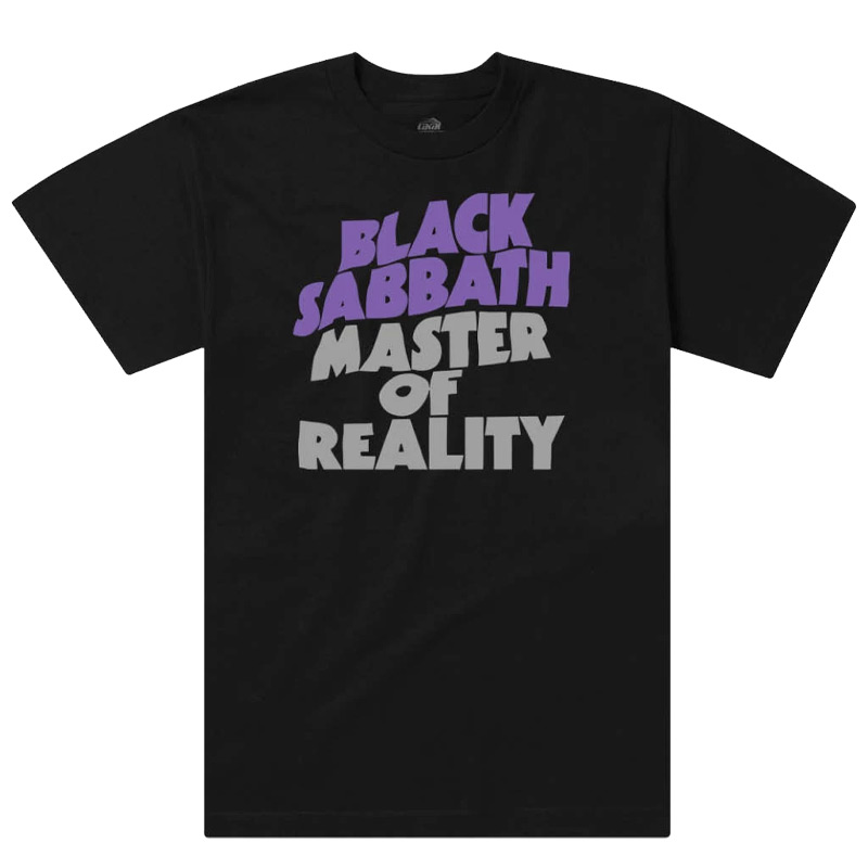 Lakai x Black Sabbath Master Of Reality T-Shirt Black