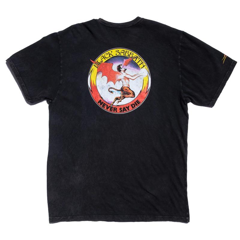 Lakai x Black Sabbath Never Say Die Premium T-Shirt Gunmetal Heather