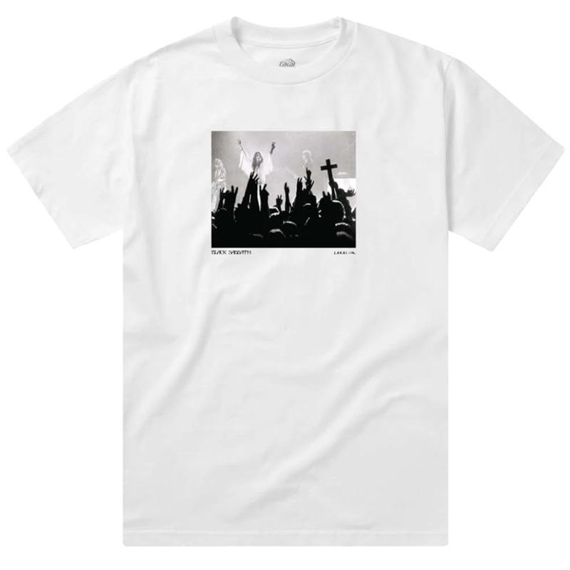 Lakai x Black Sabbath Tour Photo T-Shirt White