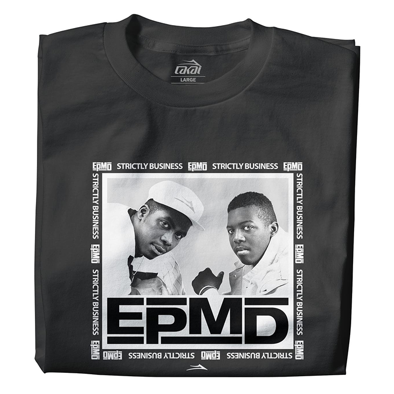 Lakai x EPMD Graphic T-Shirt Black