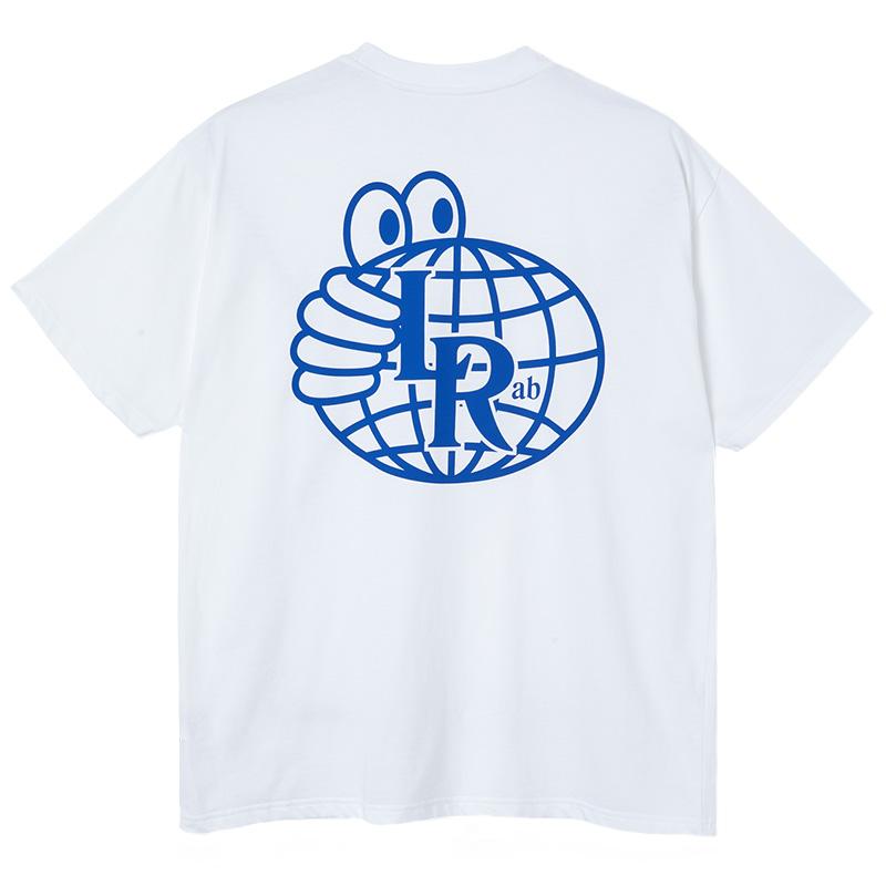 Last Resort AB Lrab Atlas Monogram T-Shirt White