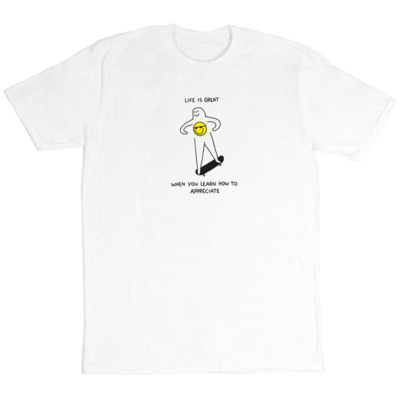 Leon Karssen Appreci8 T-Shirt White