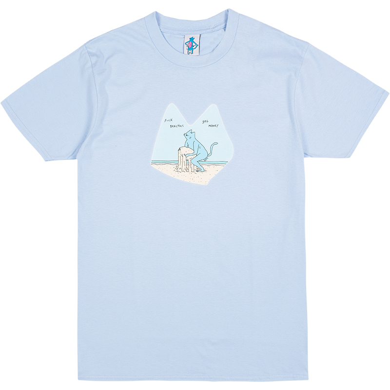 Leon Karssen Beach T-shirt Light Blue