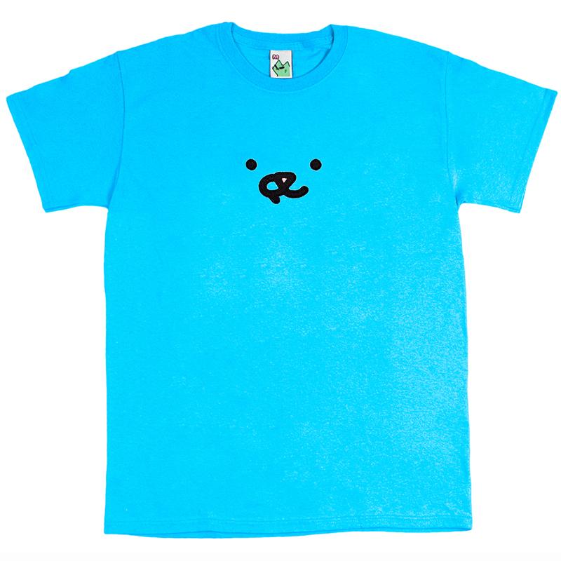Leon Karssen Face T-shirt Blue