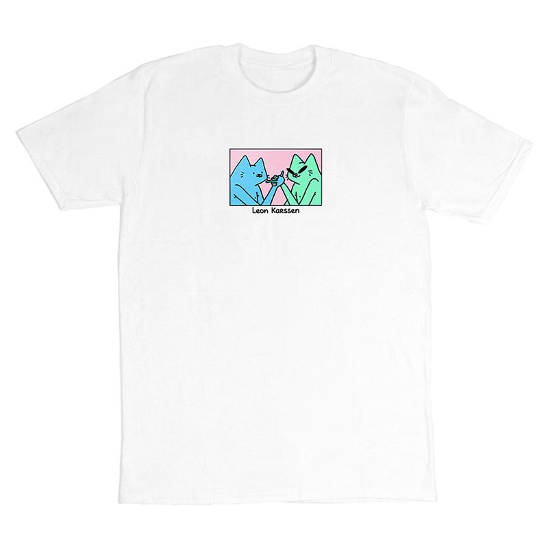 Leon Karssen Hand Shake T-Shirt White