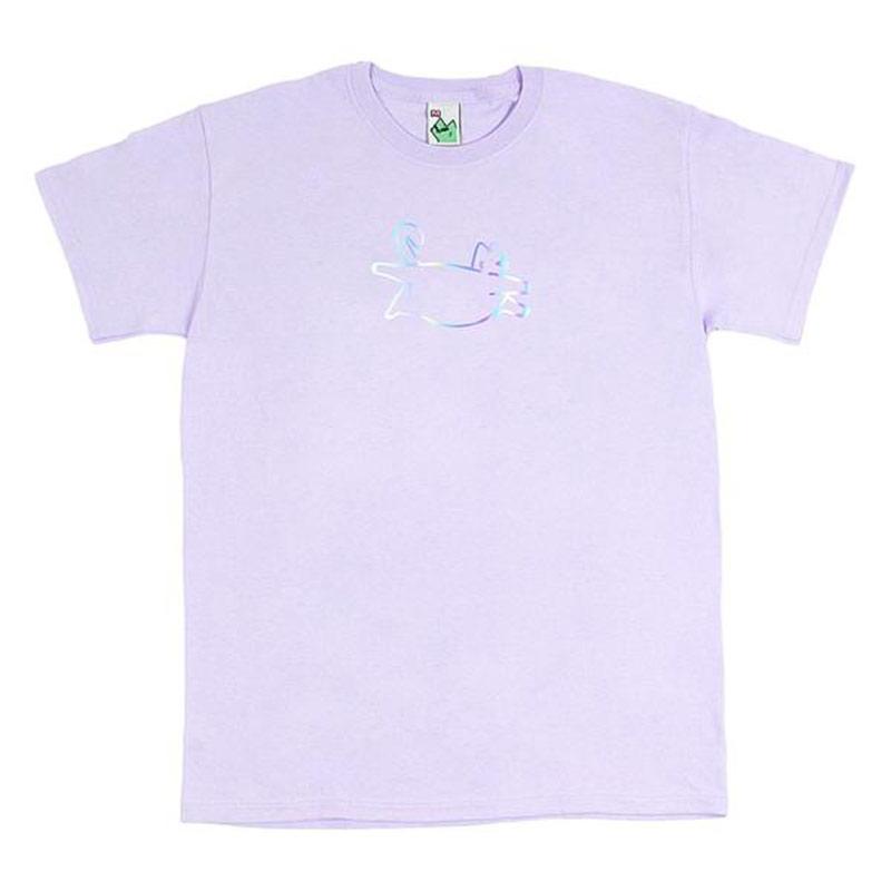 Leon Karssen Holila Fatcat T-Shirt Lavender