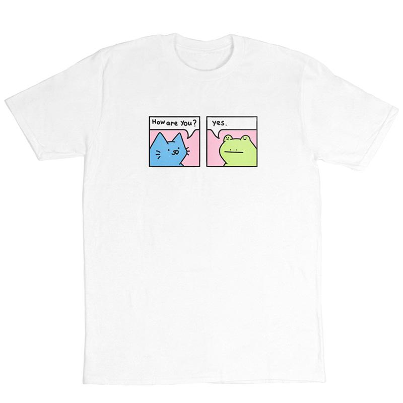 Leon Karssen How R U T-Shirt White