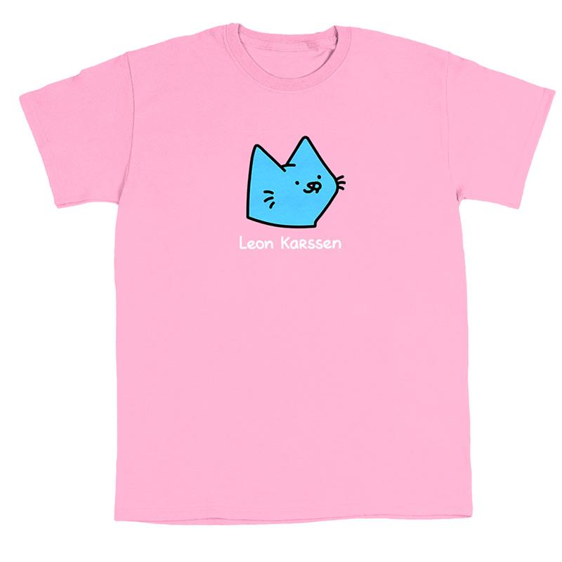Leon Karssen Logo T-Shirt Pink