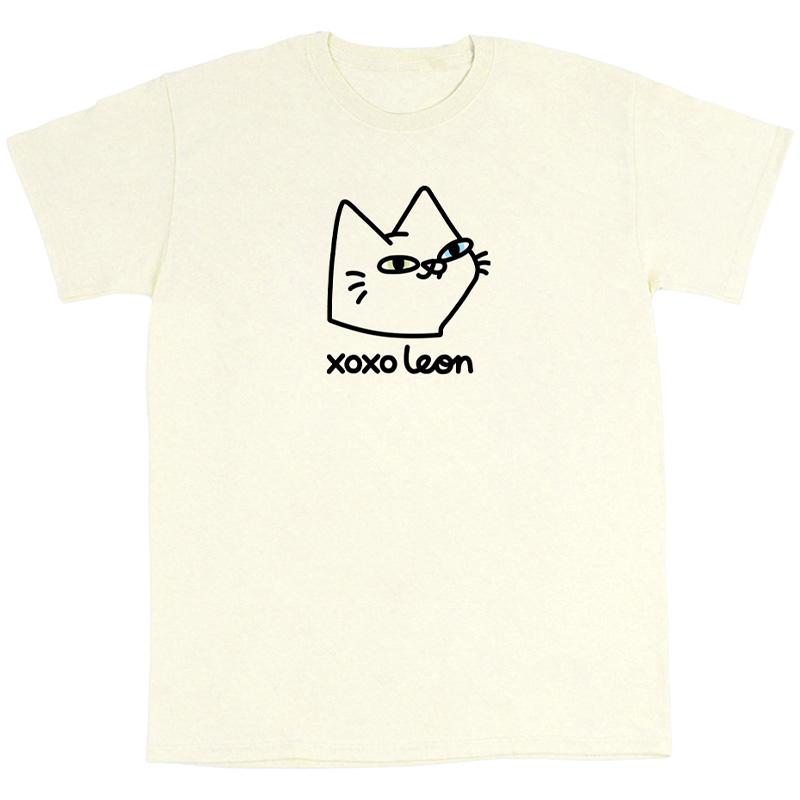 Leon Karssen Melk Logo T-shirt Natural
