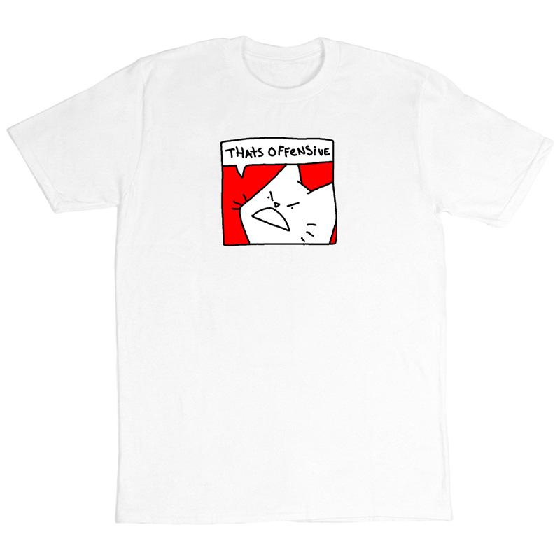 Leon Karssen Offensive T-shirt White